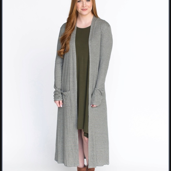 Agnes & Dora Other - Ribbed Duster